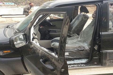 Legislator Rashid attacked in Bhaderwah