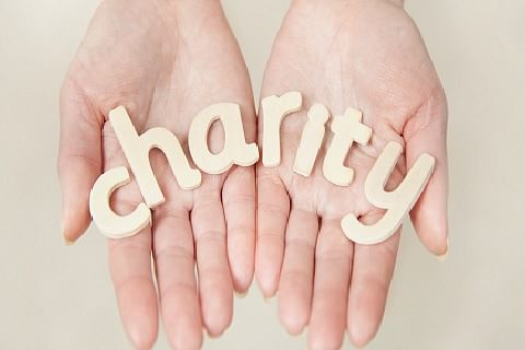 Charity wrapped in dignity