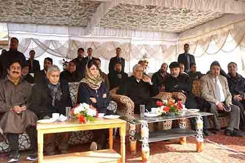 CM visits Hazratbal, reviews Milad arrangements