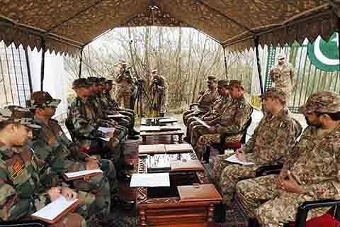 India, Pak pledge restraint at Flag Meeting