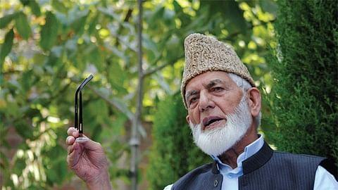 Senior Hurriyat leader Syed Ali Shah Geelani is no more