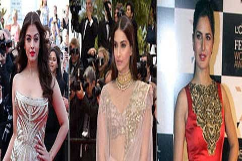 Aishwarya, Sonam, Katrina cast in one frame