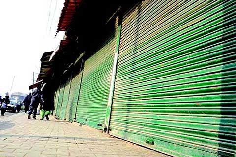 Memorial Row: Pulwama observes shutdown on 7th day