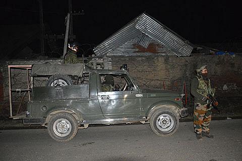 Grenade attack on CRPF camp in Anantnag