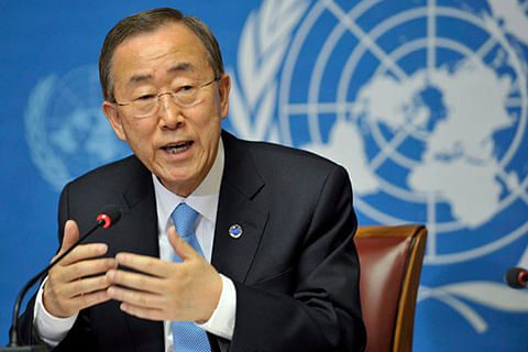 UN chief condemns