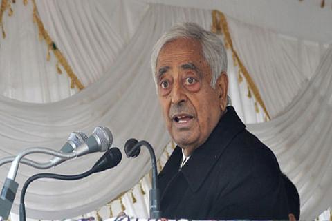 Jammu Kashmir Chief Minister Mufti Mohammad Sayeed – A suave politician