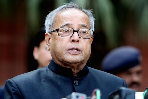 President condoles demise of Kashmir CM Mufti