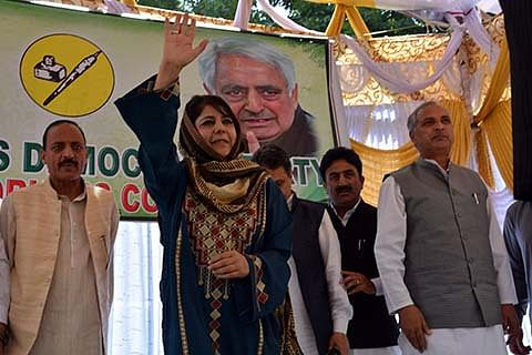 Mehbooba Mufti likely to be sworn-in as Kashmir CM tonight