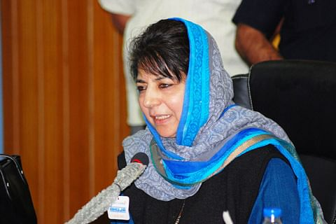 Was Vajpayee also anti-national: Mehbooba