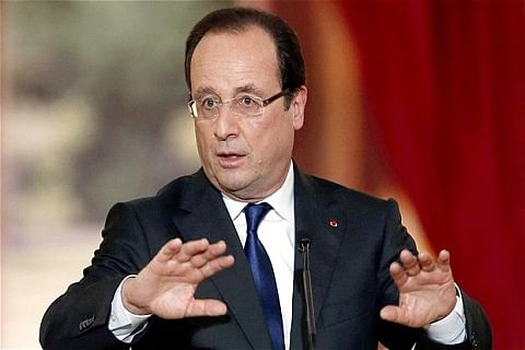 In India to strengthen cooperation against terror: French President Hollande