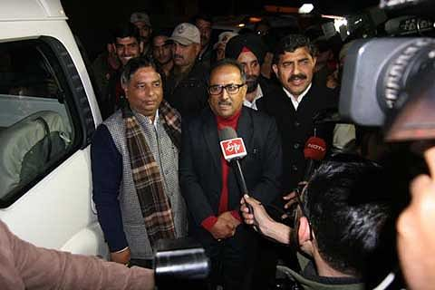 All is well, says Nirmal on PDP-BJP alliance