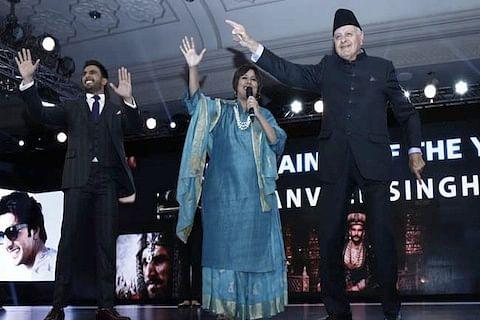 When Farooq Abdullah shook a leg with Ranveer Singh