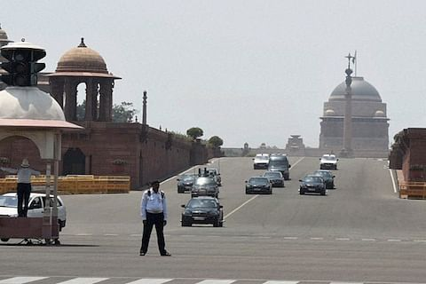 Woman detained for crossing barricade on PM Modi's route in Delhi