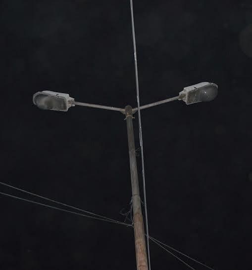 Authorities sit on defunct streetlights at Gojwara
