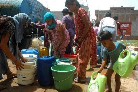 Water scarcity in Ganderbal village
