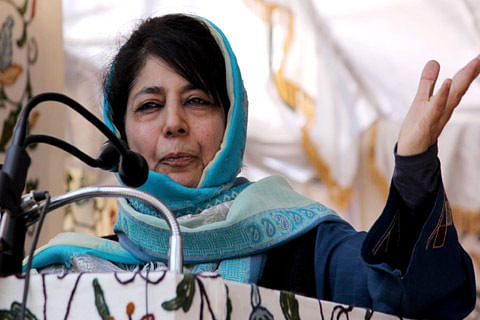 Placed under house arrest, claims Mehbooba