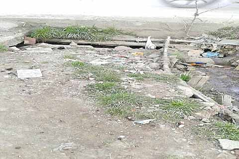 Rambagh residents decry delay in covering drain