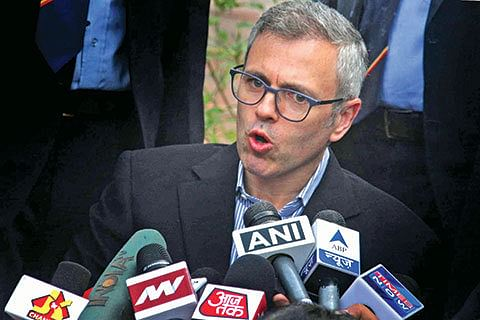 PDP allying with those who are at war with Indian Muslims: Omar