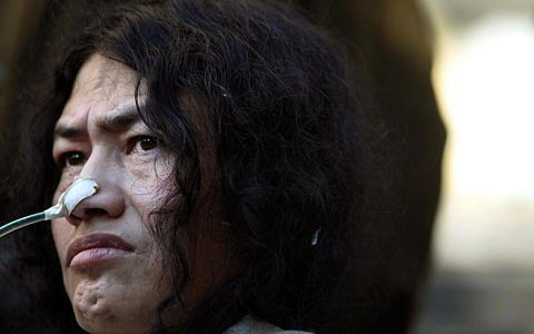 Irom Sharmila rearrested within days of release