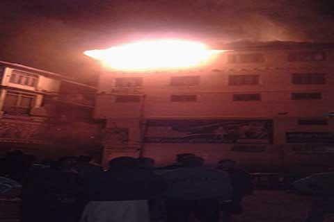 Goni Khan fire victims seek rehabilitation