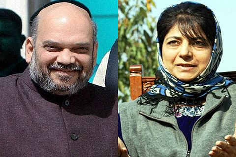 Mufti's decision final, says Mehbooba on alliance with BJP