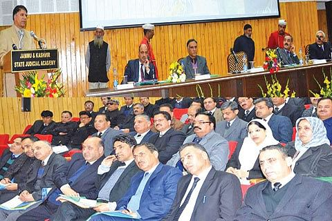 JK judges call for speedy justice delivery