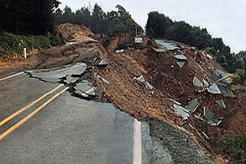 Fear of landslides in Pir Panjal