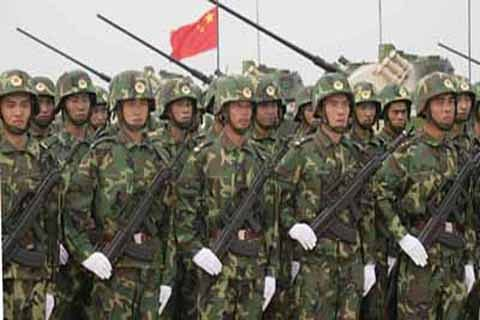 """Chinese Army 'spotted"""" along Line of Control in PaK"""
