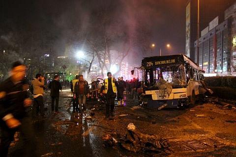 34 killed, 125 injured in Turkey blast
