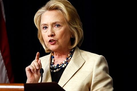 """Trump """"trafficking in hate and fear"""": Clinton"""