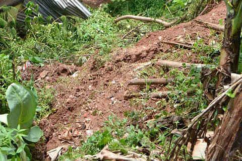 Residential house, cowshed damaged in Uri landslide