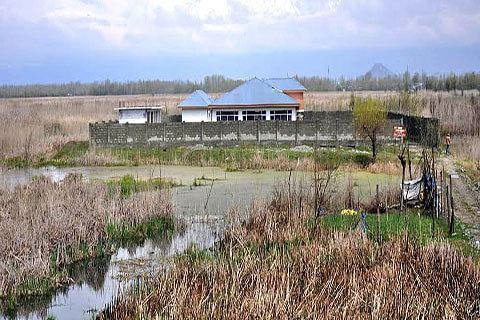 Hygam Wetland shrinking, admin fails to stop encroachment