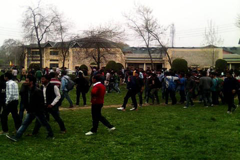 NIT Srinagar closed after student groups spar over India T20 defeat