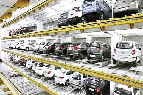Srinagar to get 2 new multi-level parking slots