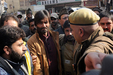 Handing over land to army in Ladakh against interests of humanity: Yasin Malik