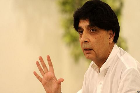 Pakistan minister vows to deter foes from sowing malice