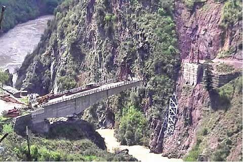 Uri residents cry for bridge reconstruction