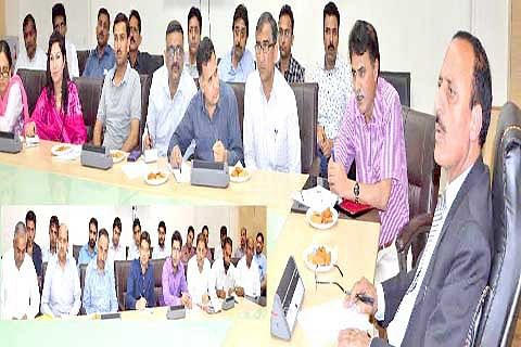 Abdul Haq convenes introductory meeting with Law officers