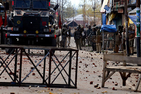 Dozens of youths detained after clashes in Handwara