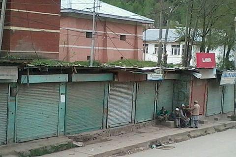 Spontaneous shutdown in Uri against Handwara civilian killings