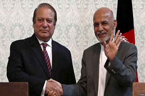 Afghan President implores Pakistan to battle Taliban