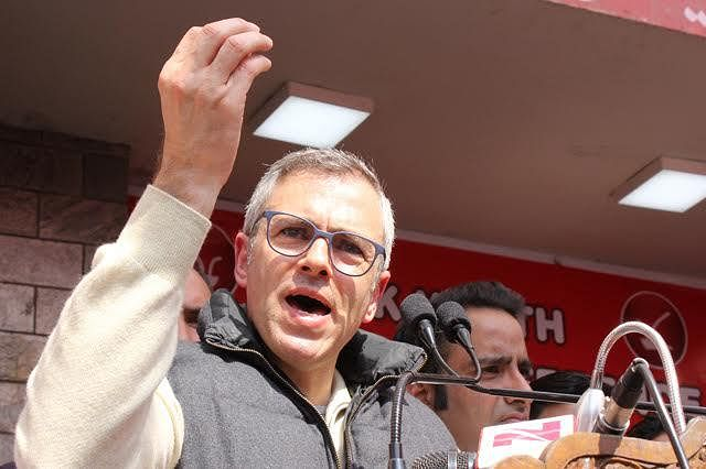 Omar hits out at govt
