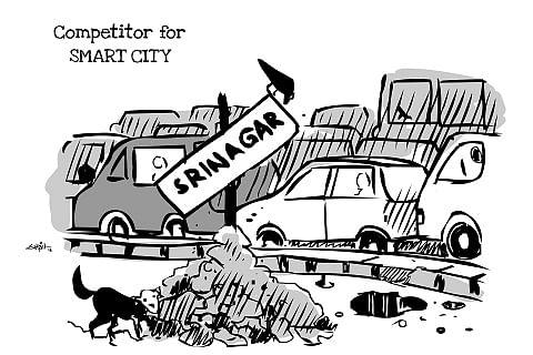 Cartoon by Suhail Naqshbandi