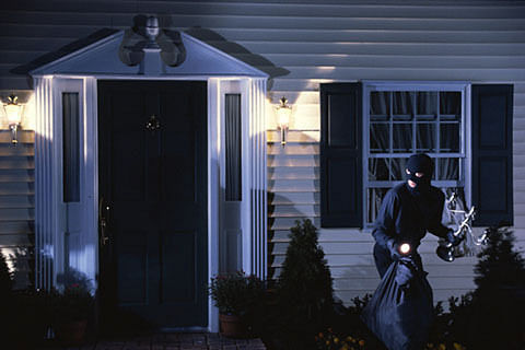 Burglars decamp with all household items