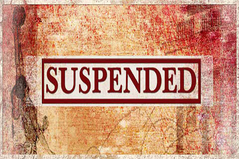 Students ferry rice bags, 8 teachers suspended