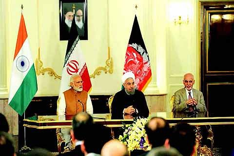 PACT SIGNED, Strategic Chabahar port to link India, Iran, Afghanistan