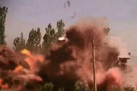 Powerful explosion in upscale neighbourhood of Afghan capital