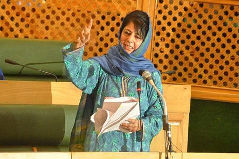 Mehbooba writes to media bodies, says Kashmiri journalists 'harassed'