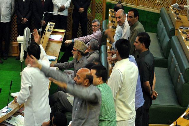 Ruckus In Kashmir Assembly Over Sadhvi Prachi's Anti-Muslim Remarks