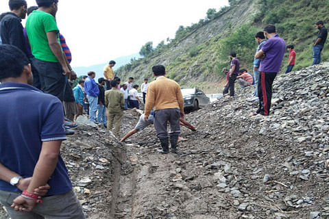 Landslide-hit Batote-Kishtwar highway reopens for traffic